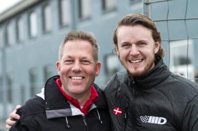 Tommy Schröter and ELMS LMP3 driver Morten Dons