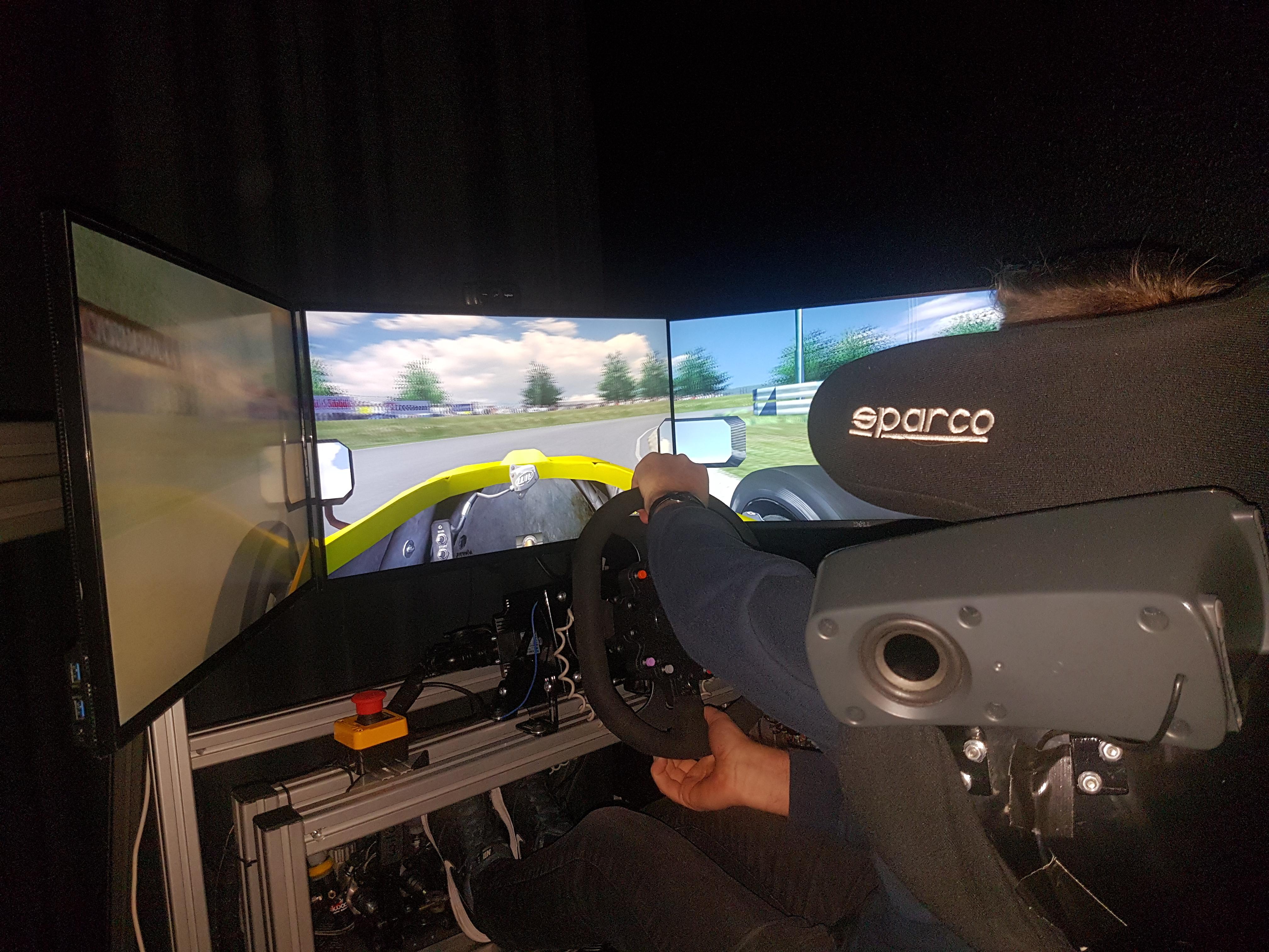 Tommy Schröter - simulatortræning i danmark